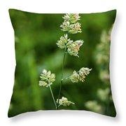 A World Of Green Throw Pillow