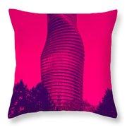 Absolute Tower Throw Pillow
