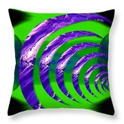 Abstract 123 Throw Pillow