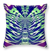 Abstract 140 Throw Pillow