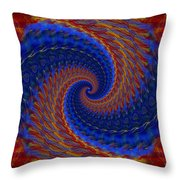 Abstract 142 Throw Pillow