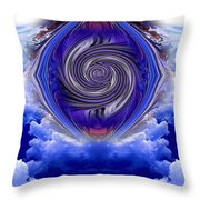 Abstract 143 Throw Pillow