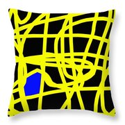 Abstract 231 Throw Pillow