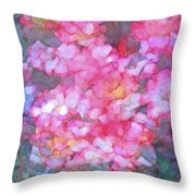 Abstract 279 Throw Pillow