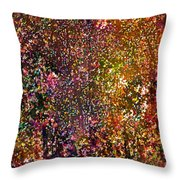 Abstract 295 Throw Pillow