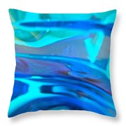 Abstract 4388 Throw Pillow