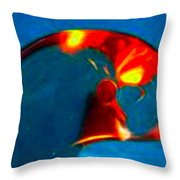 Abstract 4785 Throw Pillow