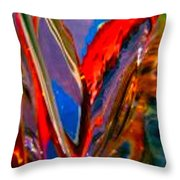 Abstract 4786 Throw Pillow