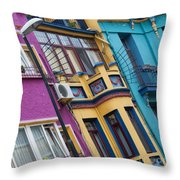 Abstract Istanbul 02 Throw Pillow