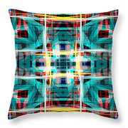 Abstract Pattern 5 Throw Pillow