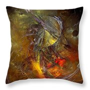 Abstraction 0601 - Marucii Throw Pillow