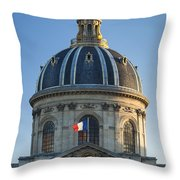 Academie Francaise Throw Pillow