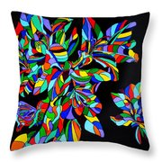 Acadiana In Bloom Throw Pillow
