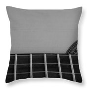 Acoustic Guitar Frontal Throw Pillow