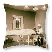 Administering Anesthesia 1922  Throw Pillow