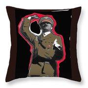 Adolf Hitler Saluting 2 Circa 1933 Throw Pillow
