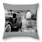 Adolf Hitler Shortly After His Release From Prison 1924 1924-2012 Throw Pillow