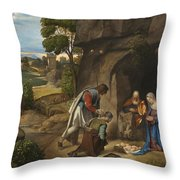 Respect Amd Love Of The Shepherds Throw Pillow