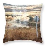 Ah64d Apache Longbow Helicopters  Throw Pillow