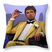 Al Pacino Throw Pillow by Paul Meijering