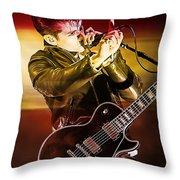 Alex Turner Throw Pillow