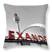 Alexander Platz - Berlin Throw Pillow