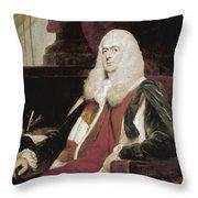 Alexander Wedderburn (1733-1805) Throw Pillow