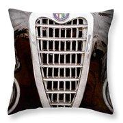 Alfa Romeo Milano Grille Emblem Throw Pillow