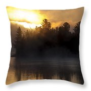 Algonquin Sunrise Throw Pillow