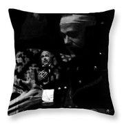 Allan Fudge Mourning Becomes Electra University Of Arizona Drama Collage Tucson Arizona 1970 Throw Pillow