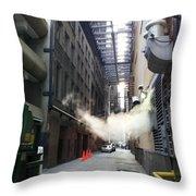 Alley 14 Throw Pillow