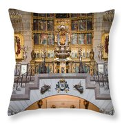 Almudena Cathedral Altar Throw Pillow