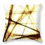 Along These Lines Throw Pillow
