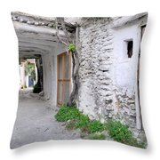 Alpujarras In Granada Throw Pillow