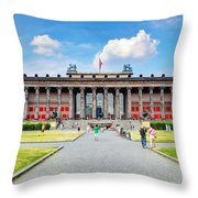 Altes Museum Throw Pillow