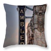Ambler Theater - Ambler Pa Throw Pillow