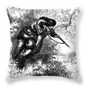 American Marksman Throw Pillow
