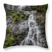 Amicola Falls Throw Pillow