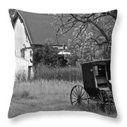 Amish Living Throw Pillow