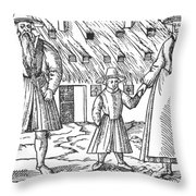 Anabaptist Family Throw Pillow