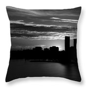 And Yet Another Day Closes... Throw Pillow