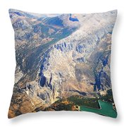 Andalusian Heights. Spain Throw Pillow
