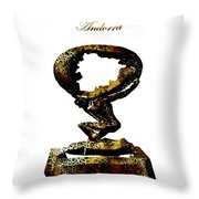Andorra  Throw Pillow