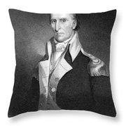 Andrew Pickens (1739-1817) Throw Pillow