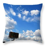 Angels About Throw Pillow