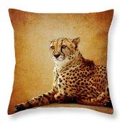 Animal Portrait Throw Pillow