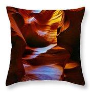 Antelope Canyon - Arizona Throw Pillow