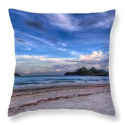 Ao Manao Bay Throw Pillow