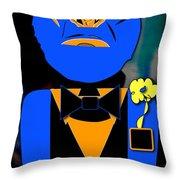 Ape Banquet Throw Pillow