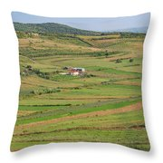 Apollonia, Or Apoloni, Fier Region Throw Pillow